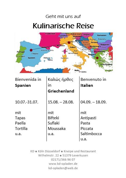 KD Kulinarische Reise 2019 KD Opladen